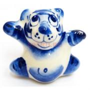 Фигурка Малыш синяя гжель Тигр Символ 2022 года