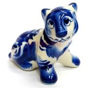 Фигурка Алтай (11) гжель синяя Тигр Символ 2022 года