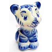 Фигурка Арчи (6) гжель синяя Тигр Символ 2022 года