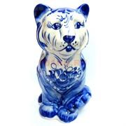 Фигурка Симба синяя гжель Тигр Символ 2022 года