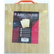 Доска разделочная (WD-11) бамбуковая 34 см