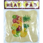 Подставка под горячее Heat Pad из бамбука 240 шт/кор
