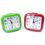 Часы-будильник QUARTZ настольные (2126) цвета в ассортименте 200 шт/кор