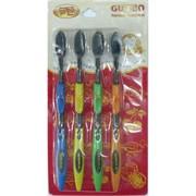 Зубные щетки бамбуковые GUMBO 4 шт/уп 200 шт/кор
