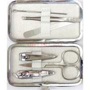 Набор маникюрный белый в футляре 6 предметов 240 шт/кор