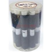 Нитка (2442) черные 28 шт/уп 50 наборов/коробка