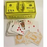 Карты игральные 54 шт USA Dollar 12 шт/уп