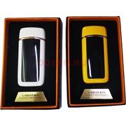 Зажигалка USB разрядная сенсорная цвета в ассортименте