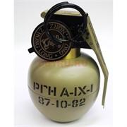 Зажигалка газовая настольная «граната РГН А-IX-I» металлическая