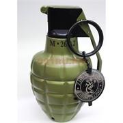 Зажигалка газовая настольная «граната М26А2» металлическая