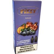 Испаритель Fizzy Magic 2x1000 затяжек 2 бака (многоразовая) в ассортименте