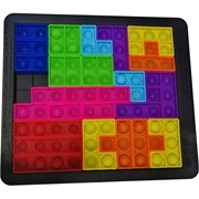 Игрушка паззл Building Blocks из пупырок