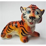 Фигурка Симба (42А) цветная гжель Тигр Символ 2022 года