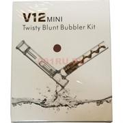 Трубка стеклянная V12 Mini в подарочной коробочке