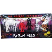 Брелоки Soron Head сиренеголовый набор из 6 штук