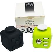 Кубик антистресс игрушка Fidget Cube металлический