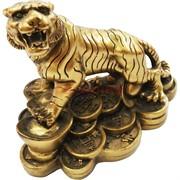 Тигр из полистоуна на монетах (108219) символ 2022 года