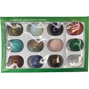 Набор шариков из минералов и камней 35 мм 12 шт/уп