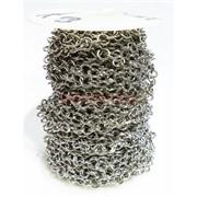 Цепь металлическая (L221693) под серебро (цена за 1 метр)