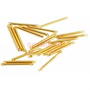 Коннектор металлический 1,9 см под золото