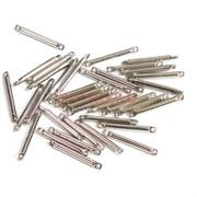 Коннектор металлический 1,5 см под серебро