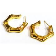 Серьги (KL-04) под золото