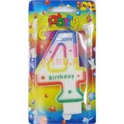 Свеча Happy birthday (5520) с цифрами 600 шт/кор