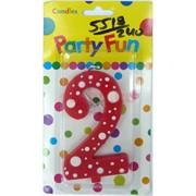 Свеча Party Fun (5518) с цифрами 240 шт/кор