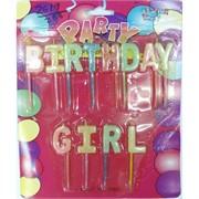 Набор свечей (2619) Birthday Girl 288 шт/кор