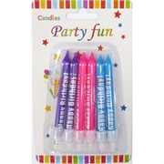 Набор свечей (6947) Party Fun 300 шт/кор
