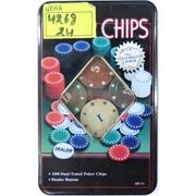 Игра покер (4268) Chips 24 шт/кор