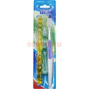 Набор зубных щеток TIME 3 шт/уп 360 наборов/коробка