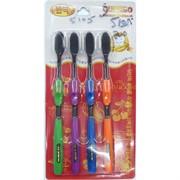 Набор зубных щеток Quanbo (5105) бамбуковых 200 шт/коробка