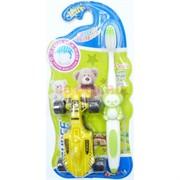 Набор зубная щетка с игрушкой Children Toothbrush 288 шт/кор