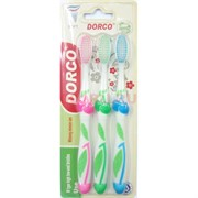 Набор зубная щетка Dorco 3 шт/уп 288 наборов/коробка