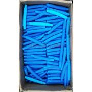 Трубка поп тьюб антистресс 14x2 см голубая 1000 шт/кор