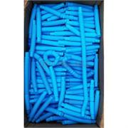 Трубка поп тьюб антистресс 14x2 см синяя 1000 шт/кор