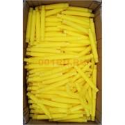 Трубка поп тьюб антистресс 14x2 см желтая 1000 шт/кор