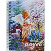 Тетрадь с деревянным корпусом Ангел Angel 15 см