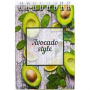Тетрадь с деревянным корпусом Avocado style 11 см