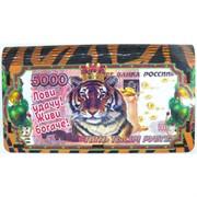 Деревянная шкатулка новогодняя Тигр Символ 2022 года
