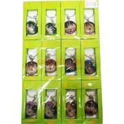 Брелок мусульманский Сердце и Круг (1160) пластмассовое 12 шт/упаковка