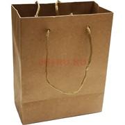 Пакет крафтовый бумажный 19x24 см 12 шт/упаковка
