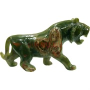 Тигр символ 2022 года фигурка из оникса 12 дюймов 30 см