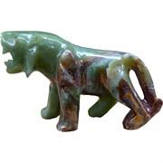 Тигр из оникса 20 см 8 дюймов символ 2022 года