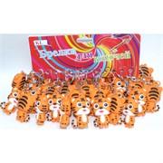 Брелок резиновый (KL-1944) тигрята большие 120 шт/блок (символ 2022 года)