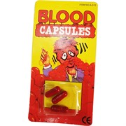 """Прикол """"Капсула с кровью"""" 3 шт 24 упаковки/блок"""