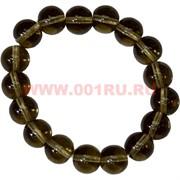 Браслет из раухтопаза 12 мм (натуральный камень)