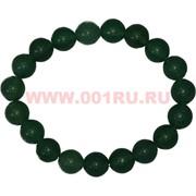Браслет из нефрита 10 мм (натуральный камень)