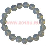 Браслет из лунного камня 10 мм (натуральный камень)